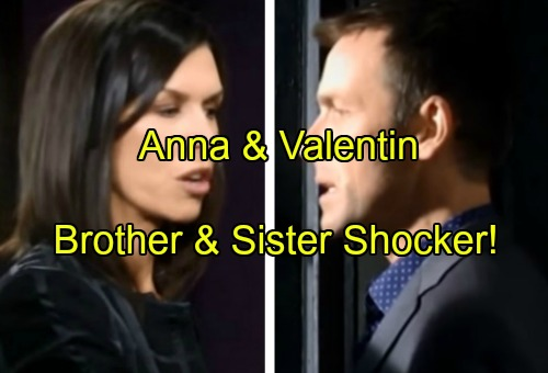 General Hospital Spoilers: Valentin's Shocking Connection to Anna Revealed - Siblings Share Same Mother?