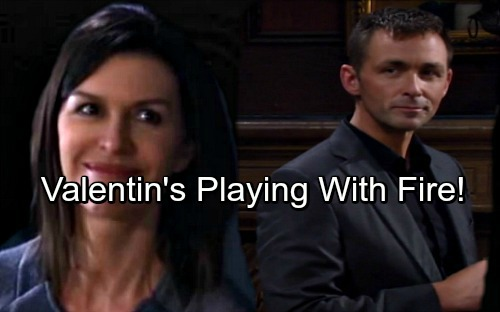 General Hospital Spoilers: Valentin's His Own Worst Enemy – Anna Alliance Proves Costly, Jealous Nina's Suspicions Grow