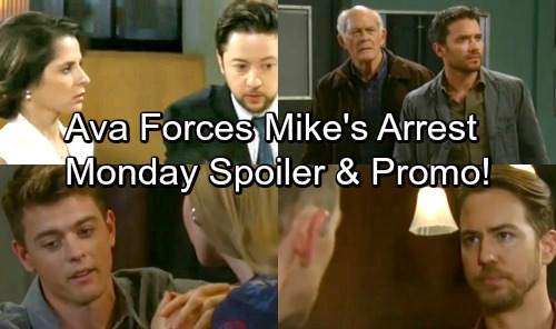 General Hospital Spoilers: Monday, April 23 – JaSam and Spinelli Face Death – Ava Forces Mike's Arrest – Michael Falls For Nelle
