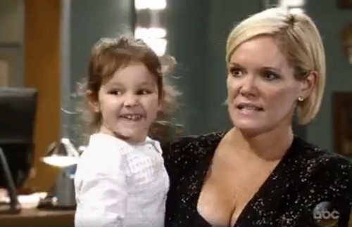 General Hospital Spoilers: Nelle's Baby Shower Bombshell – Carly Loses Control with Morgan Shocker
