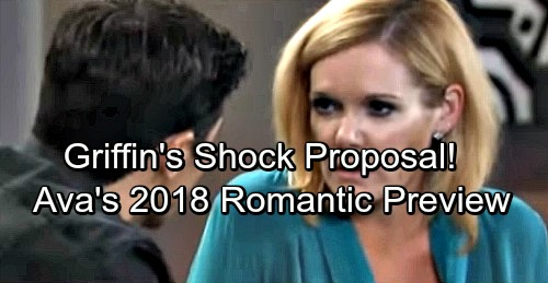 General Hospital Spoilers: 2018 Preview - Griffin's Bombshell Proposal Changes the Game – Ava's Demons Emerge