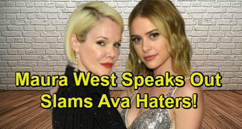 General Hospital Spoilers: Maura West Speaks Out Against Ava Haters – Calls Blame for Kiki's Death 'Preposterous'