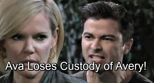 General Hospital Spoilers: Griffin Tells Sonny and Carly About The Blanket - Ava Loses Custody of Avery