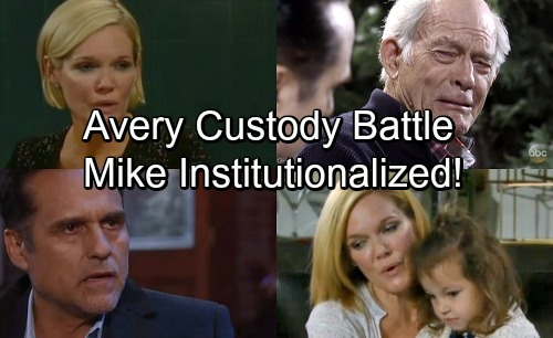 General Hospital Spoilers: Ava and Sonny Fight Vicious Custody Battle Over Avery - Mike Banished To An Institution