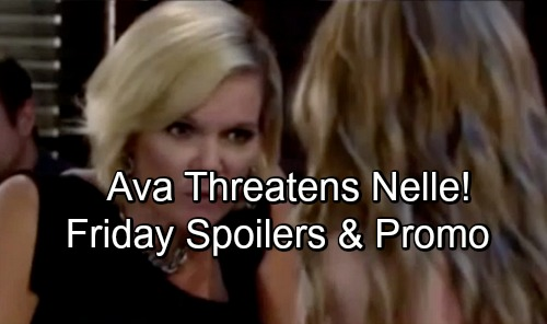 General Hospital Spoilers: Friday, July 6 – Ava's Fierce Warning for Nelle – Chase Reveals Plot – Maxie and Lulu's Shocking Visitor