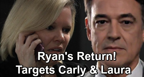 General Hospital Spoilers: Ava Spooked by Phone Call - Ryan Back for More Serial Killer Drama - Carly & Laura Next Targets