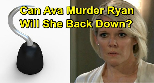 General Hospital Spoilers: Ava's Gruesome Plans in Jeopardy – Can She Go Through with Ryan's Murder?