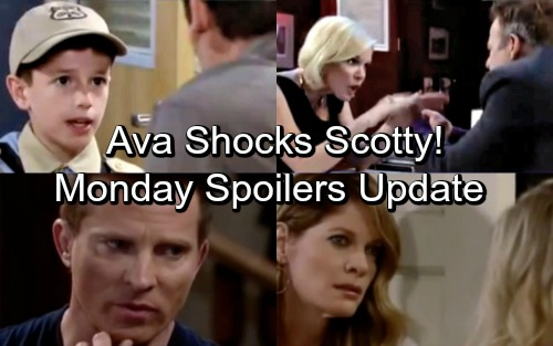 General Hospital Spoilers: Monday, July 9 Update – Ava Shocks Scotty – Maxie Takes Pity on Peter – Franco's Stunning News