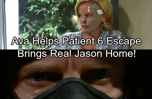 General Hospital Spoilers: Ava Saves Steve Burton's Patient Six - Brings The Real Jason Morgan Home To PC