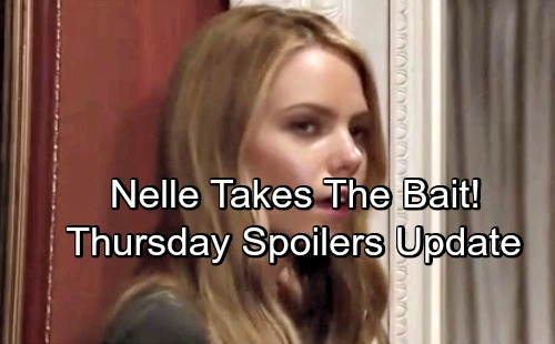 General Hospital Spoilers: Thursday, July 12 Update – Nelle Takes Michael's Bait – Valentin Grills Lying Nina – Dr. O Panics