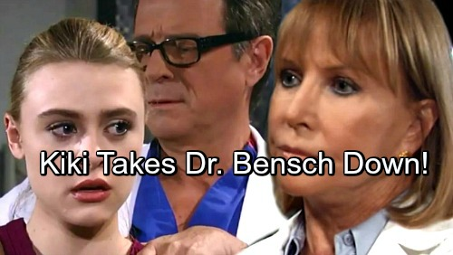 General Hospital Spoilers: Kiki Pushed to Her Limit – Takes Dirty Dr. Bensch Down In GH War