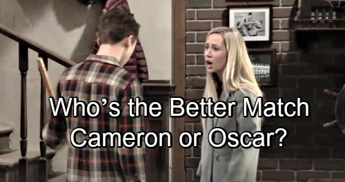 General Hospital Spoilers: Josslyn Torn Between Two Loves – Who's the Better Match: Cameron or Oscar?