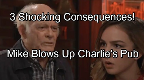General Hospital Spoilers: Explosion Rocks Charlie's Pub - 3 Horrible Consequences of Mike's Blast