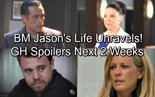 General Hospital Spoilers: Next 2 Weeks - BM Jason Battles Carly - Sonny and Dr. Obrecht Face Off Over Patient Six