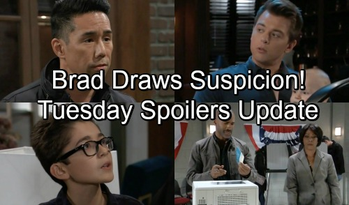 General Hospital Spoilers: Tuesday, November 6 Update – Lucas Battles Baby Suspicions – Spencer's Bogus Ballots