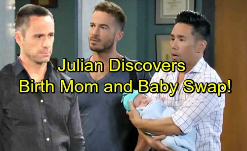 General Hospital Spoilers: Julian's Startling Investigation – Birth Mom and Baby Swap Bombshells Exposed