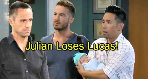 General Hospital Spoilers: Lucas Bond With Dad Destroyed Over Baby Swap Cover-up - Julian's Actions Come Back to Bite Him