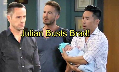 General Hospital Spoilers: Julian Discovers Brad's Baby Secret – Learns 'Wiley' is Nelle's Son