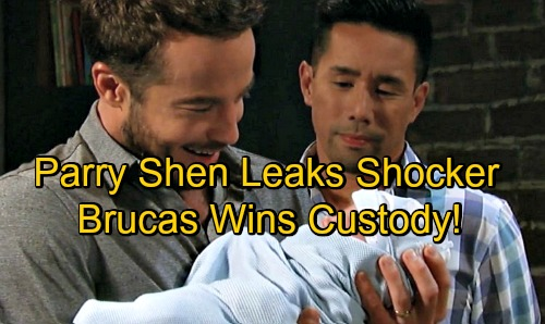 General Hospital Spoilers: Parry Shen Teases Birth Mom Shocker – Brad and Lucas Win Baby Custody