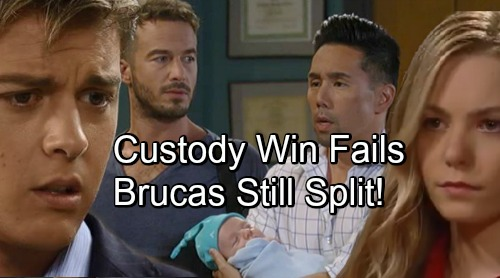 General Hospital Spoilers: 'Wiley' Custody Win Can't Save 'Brucas' - Nelle's Baby Switch Reveal Breaks Up Brad and Lucas