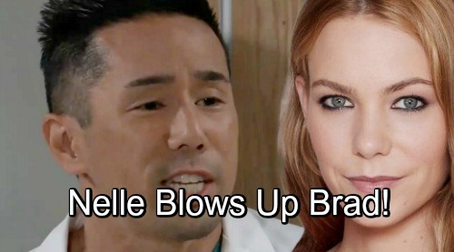 General Hospital Spoilers: Crazy Nelle's Last-Ditch Strategy – Desperation Drives Her to Blow Up Brad's Life
