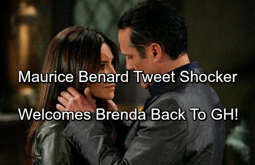 General Hospital Spoilers: Maurice Benard Welcomes Brenda Barrett Back To GH With Vanessa Marcil Tweet