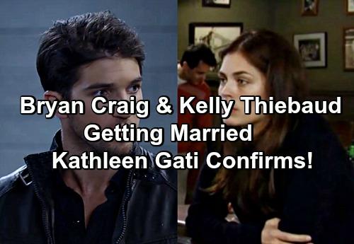 General Hospital Spoilers: Kathleen Gati Confirms Kelly Thiebaud - Bryan Craig Getting Married