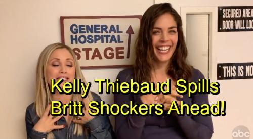 General Hospital Spoilers: More Britt Shockers Ahead - Kelly Thiebaud Spills Comeback Details
