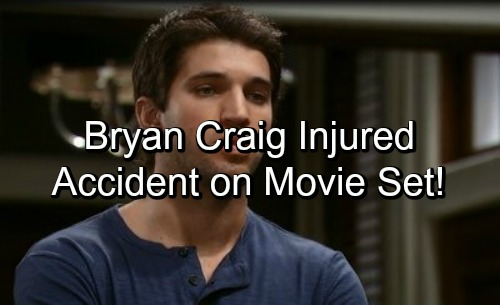 General Hospital Spoilers: Bryan Craig Foot Injured in Movie Set Accident, Family Steps Up For Ex-Morgan Corinthos