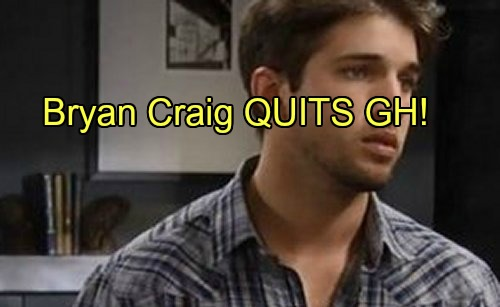 'General Hospital' Spoilers: Bryan Craig Quits GH – Morgan Corinthos Recast or Written Out?