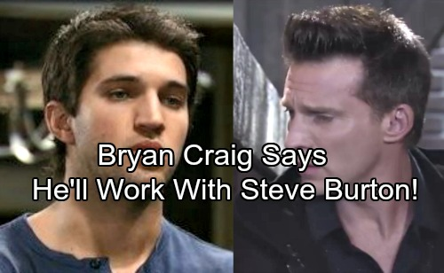General Hospital Spoilers: Bryan Craig Says He'll Work With Steve Burton – Returning to GH as Morgan Corinthos?