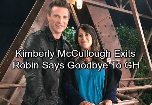 General Hospital Spoilers: Kimberly McCullough Says Goodbye to GH - Robin Exits Port Charles