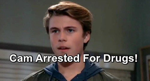 General Hospital Spoilers: Double Friz Family Crisis – Cameron Arrested for Drugs, Adds to Liz's Stress as Aiden's Bully Exposed