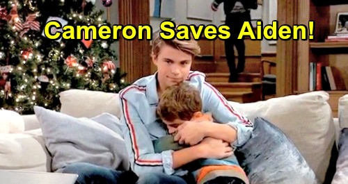 General Hospital Spoilers: Tormented Aiden Saved by Hero Brother, Cameron to the Rescue – Bullying Drama Heats Up