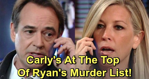 General Hospital Spoilers: Carly Rises to the Top of Ryan's Murder List – Deadly Christmas Plot Brewing?