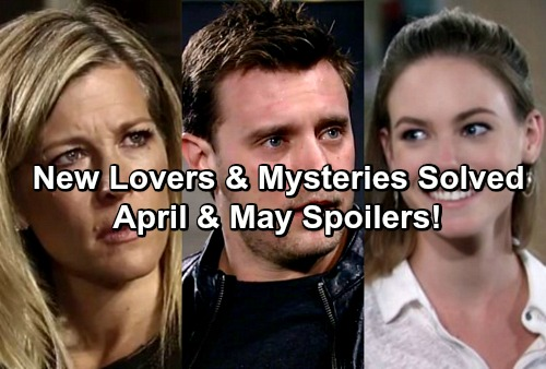 General Hospital Spoilers: Carly's New Lover, Nelle's Real Secrets and Jason's Mysterious Past Revealed - April and May on GH