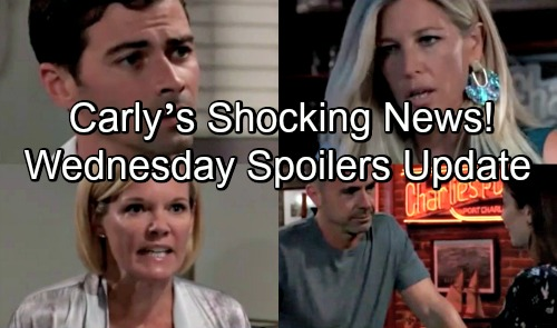 General Hospital Spoilers: Wednesday, August 15 Update – Carly's Shocking News – Angry Ava Breaks Kiki's Heart – Monica Drops a Bomb