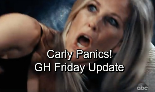 General Hospital Spoilers: Friday, October 26 Update – Carly's in a Panic – Sam and Spinelli Pull Off a Con – Griffin's Plan Backfires