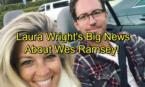 General Hospital Spoilers: Laura Wright's Big Announcement Concerning Wes Ramsey's New Starring Role