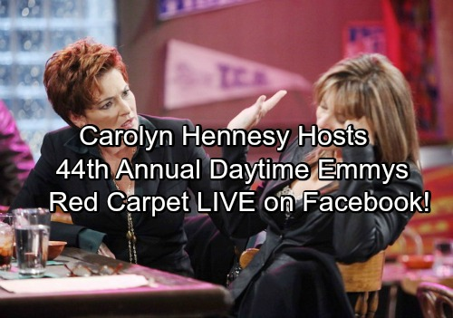 General Hospital Star Carolyn Hennesy Hosts 44th Daytime Emmy Red Carpet Shows On Facebook Live Stream