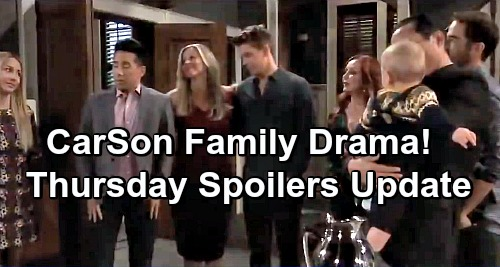 General Hospital Spoilers: Thursday, December 20 Update – Peter's Grand Gesture for Maxie – Liesl's Good News – CarSon Party Drama