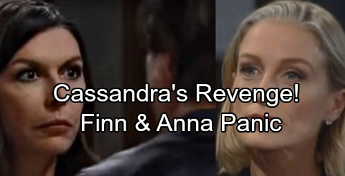 General Hospital Spoilers: Anna and Finn In Deadly Danger – Cassandra's Revenge After Shocking Discovery
