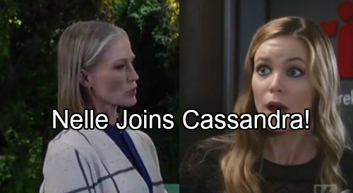General Hospital Spoilers: Nelle Joins Cassandra In Evil Shocker - Dark Forces Unite