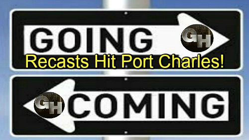 General Hospital Spoilers: Comings and Goings – Recasts Hit Port Charles – Big Changes Happening at GH