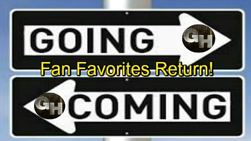 General Hospital Spoilers: Comings and Goings – Fan Favorites Return for More Drama – GH Star's New Gig