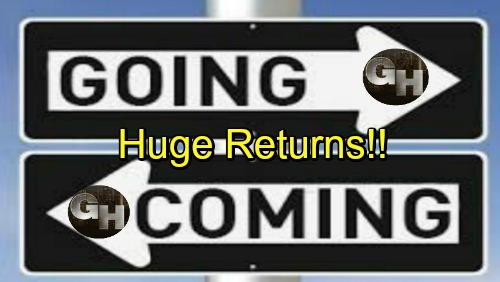 General Hospital Spoilers: Comings and Goings – Huge Returns Hit Port Charles – Soap Stars Take Part in Fun Crossover Video