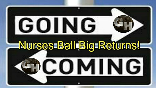 General Hospital Spoilers: Comings and Goings – Nurses Ball Kicks Off with Exciting Debuts and Big Comebacks, Major Drama Ahead