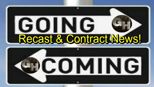 General Hospital Spoilers: Comings and Goings – Major Role Recast and Contract Renewal – Exciting New Character Details