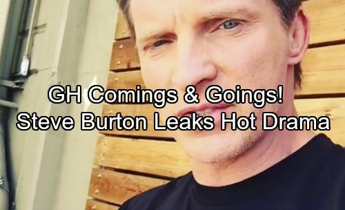 General Hospital Spoilers: Casting News – Comings and Goings – Steve Burton Teases Hot Drama, Actresses Vie for Intriguing Role