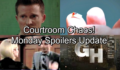 General Hospital Spoilers: Monday, August 13 Update – Courtroom Chaos Derails Kiki's Case – Jason and Robert's Discovery